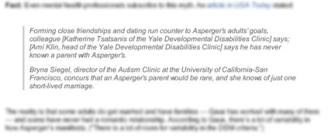 Autistic people rarely get married or have children? That's what these experts at Yale and  want you to think.