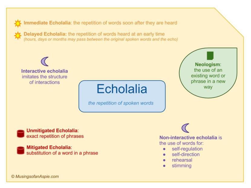 Echolalia: That's What She Said   Musings of an Aspie