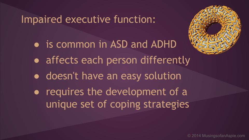 fixing executive dysfunction