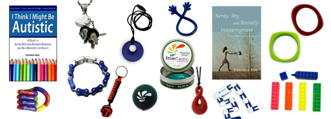 Big Giant Giveaway: Books, Stim Toys, Chewy Jewelry